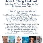 Tea Shop Tales this Saturday 2nd April