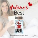 Helena's Best Reads: She Did It by Mel Sherratt
