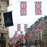 London gets all dressed up for the Jubilee