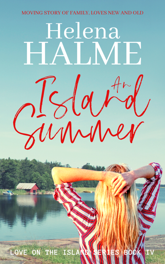 New book: An Island Summer cover