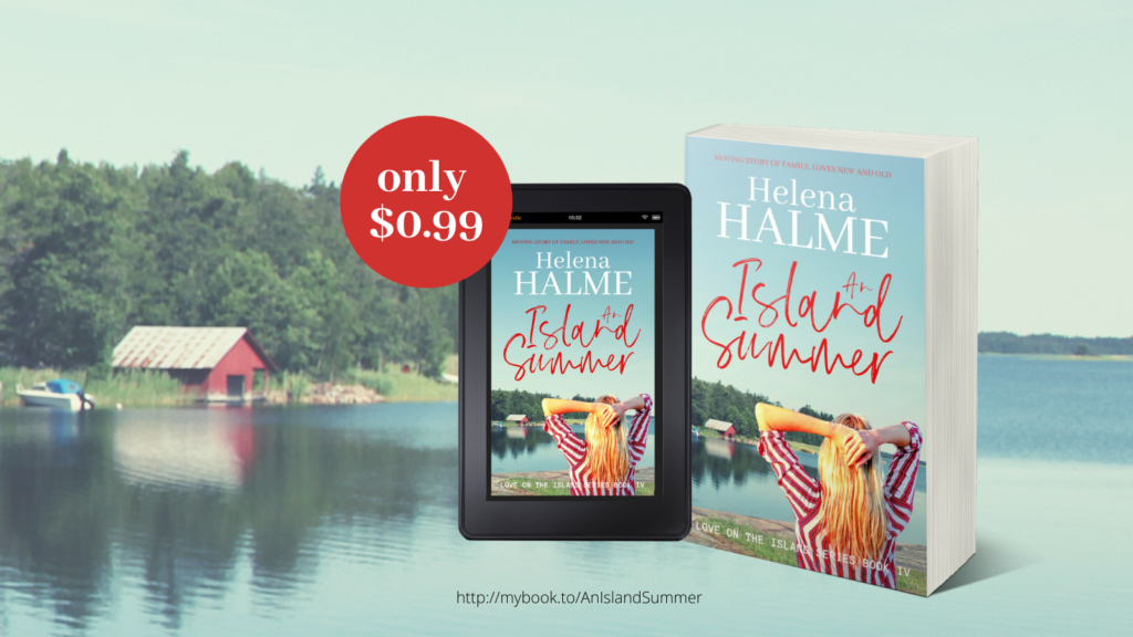 AN ISLAND SUMMER is now just $0.99!