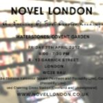 Novel London Reading at Waterstones and Free Books